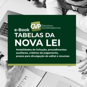 tabelas da nova lei